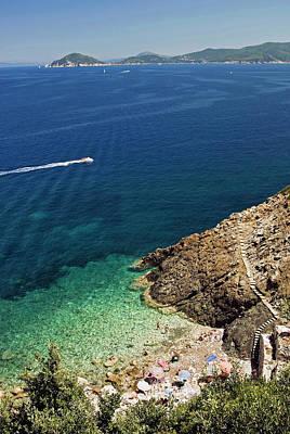 Sea View Photograph - Marciana Marina, Isola D'elba, Elba by Nico Tondini
