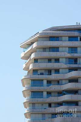 Marco-polo-tower Facade Print by Jannis Werner
