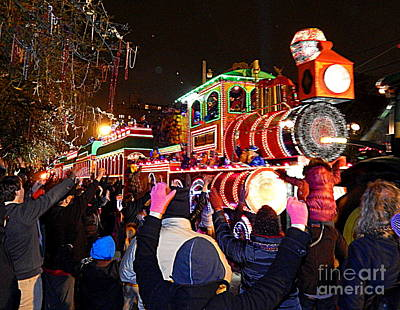 St Charles Avenue Photograph - Mardi Gras 2014 Orpheus Super Float Smokey Mary by Michael Hoard