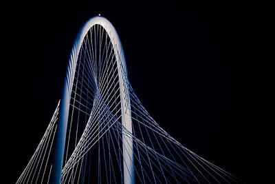 Margaret Hunt Hill Bridge Print by Darryl Dalton