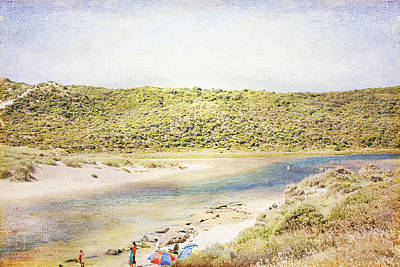 Margaret Rivermouth In Western Australia Print by Elaine Teague
