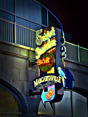 Margaritaville Photograph - Margaritaville by Bill Cannon