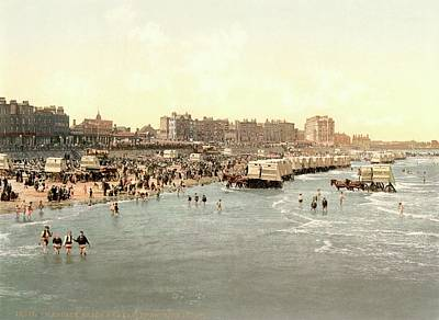 Margate Beach Print by Library Of Congress