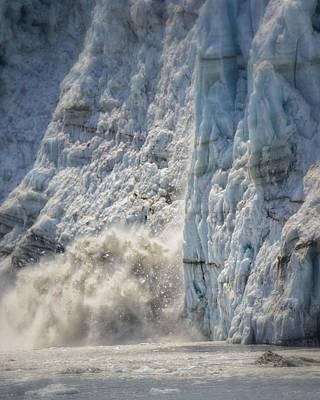Margerie Glacier Print by Vicki Jauron