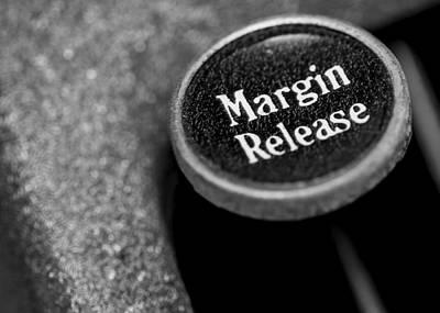 Keyboards Photograph - Margin Release by Jon Woodhams