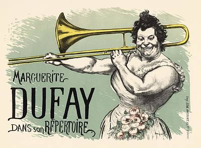 Trumpet Photograph - Marguerite Dufay Dans Son Repertoire by Gianfranco Weiss