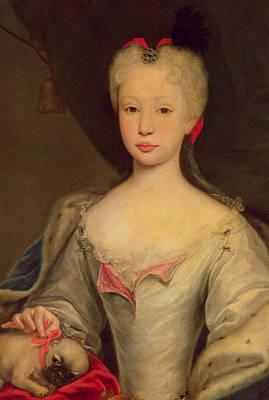 Paws Painting - Maria Barbara De Braganza by Domenico Dupra