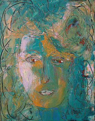 Painting - Maria by Oscar Penalber