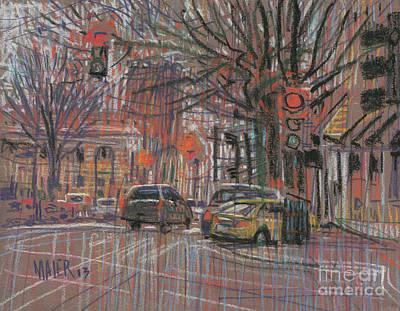 Marietta Square Print by Donald Maier