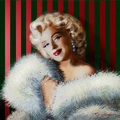 Marilyn Monroe Painting - Marilyn 126 D 3 by Theo Danella