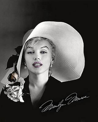 Asphalt Digital Art - Marilyn by Gary Baird