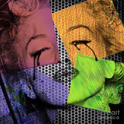 Marilyn Print by Mark Ashkenazi