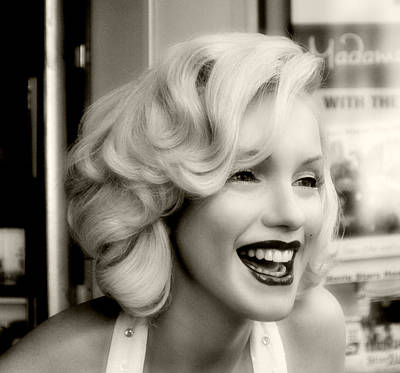 Marilyn Monroe 3 Print by Cindy Nunn