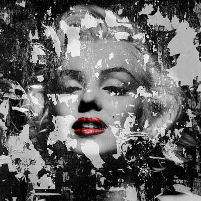 Marilyn Monroe 5 Print by Andrew Fare