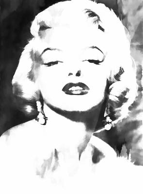 Marilyn Monroe Print by Athena Mckinzie