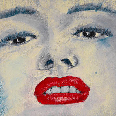 Marilyn Monroe Print by David Patterson