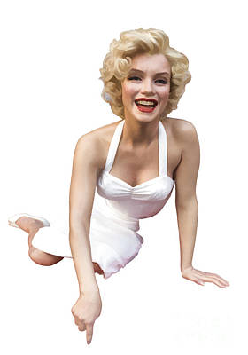 Marilyn Monroe Photograph - Marilyn Monroe by Edward Fielding