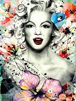 Marilyn Monroe Original by Marina Joy