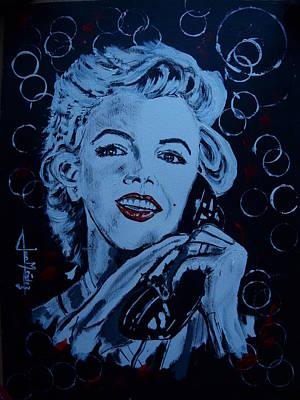 Marilyn Monroe Norma Jean Original by Juan Mendez