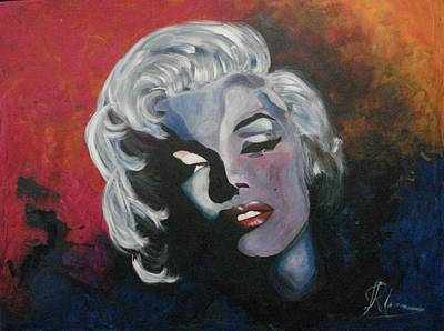 Marilyn Monroe Original by Ri Mo