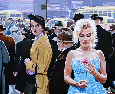 Marilyn Monroe - River Of No Return Original by Jo King