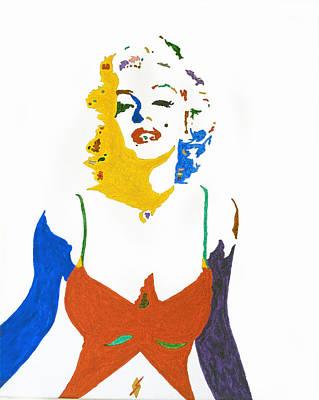 Marilyn Monroe Print by Stormm Bradshaw