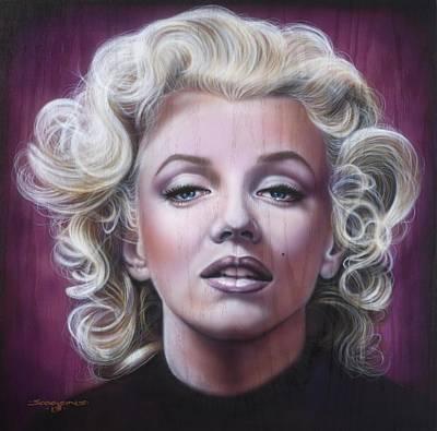 Marilyn Monroe Original by Tim  Scoggins