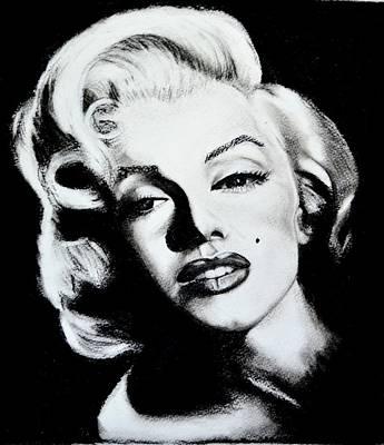 Marilyn Print by Sandy Dournayan
