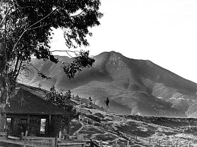 Marin County Home Print by Underwood Archives