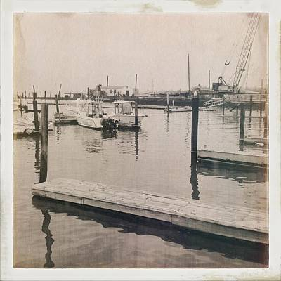 Marina 3 Print by H James Hoff
