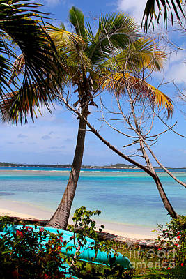 Van Dyke Photograph - Marina Cay Beach by Carey Chen