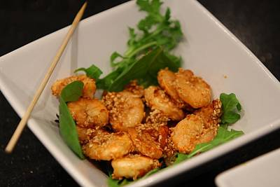 Marinated Prawns With Coconut Print by Ash Sharesomephotos