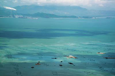 Net Photograph - Marine Fish Farm by Pan Xunbin