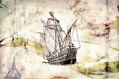Marine Sea 03 Print by Rafal Kulik