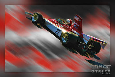 Andretti Photograph - Mario Andretti 1974 Vels-parnelli Vfj4  by Blake Richards