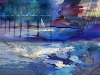 Maritime Fantasy Print by Randi Grace Nilsberg