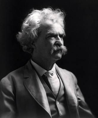 Mark Twain  Print by Daniel Hagerman