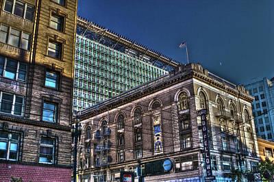 San Francisco Photograph - Market Street Area Building 3a by SC Heffner