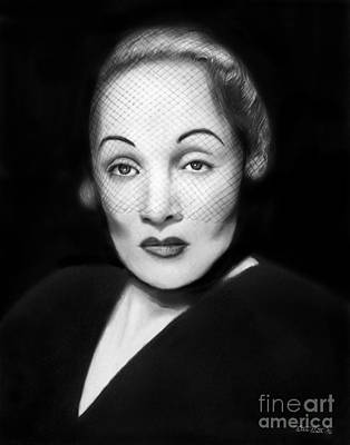 Marlene Dietrich Original by Peter Piatt
