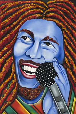 Marley Print by Nannette Harris