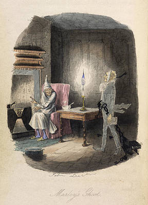Marley's Ghost Print by British Library