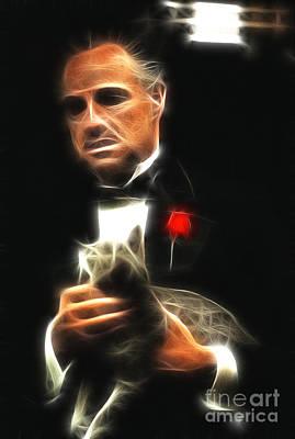 Richard S. Castellano Digital Art - Marlon Brando by Doc Braham
