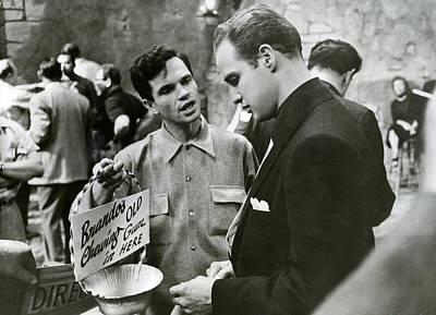 Marlon Photograph - Marlon Brando Off Set by Retro Images Archive
