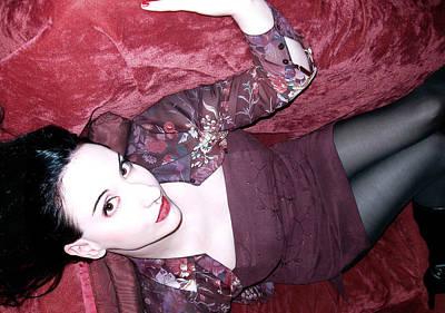 Self-portrait Photograph - Marooned - Self Portrait by Jaeda DeWalt