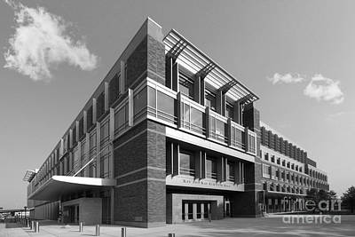 Marquette University Eckstein Hall  Print by University Icons