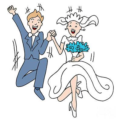 Marriage Leap Print by John Takai