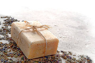 Pampering Photograph - Marseilles Bath Soap by Olivier Le Queinec