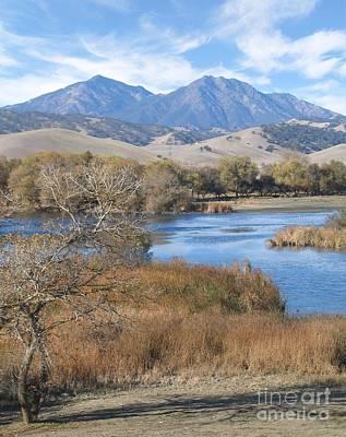 Diablo Photograph - Marsh Creek October by Stu Shepherd
