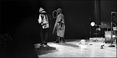 Uc Davis Photograph - Marshall And Sonny 1968 by Lee  Santa