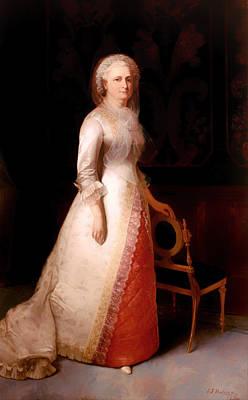 Martha Dandridge Custis Washington Print by Mountain Dreams